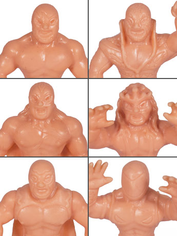 The Legends of Lucha Libre M.U.S.C.L.E. Three Packs Set of 2