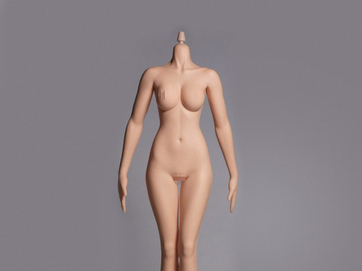 Hot Stuff 1/6 Scale Female Slim Body 3rd Generation (Pale Cone Joint)