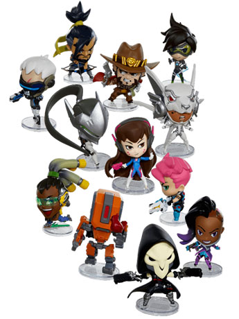 Overwatch Cute But Deadly Series 3 Box of 12 Figures