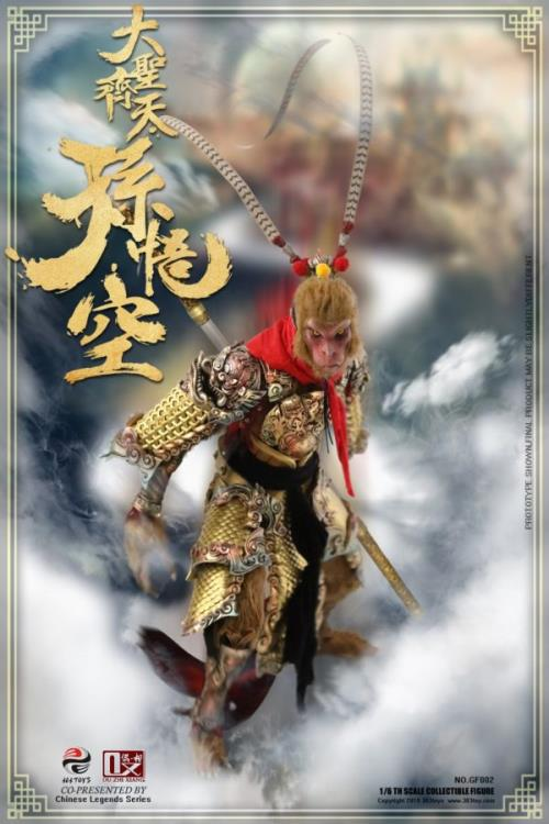 Chinese Legends Sun Wukong (Great Sage Equally Heaven) 1/6 Scale Figure