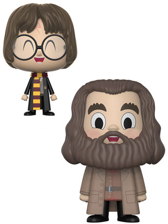 Harry Potter Vynl. Rubeus Hagrid + Harry Potter