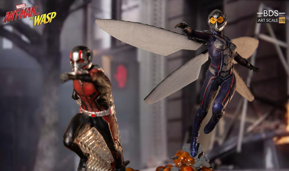 Ant-Man and the Wasp Battle Diorama Series Ant-Man 1/10 Art Scale Limited Edition Statue
