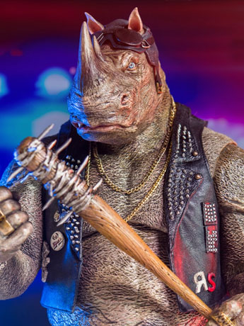 TMNT: Out of the Shadows Rocksteady 1/6 Scale Figure