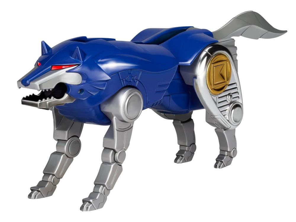 Blue wolf zord - photo#34
