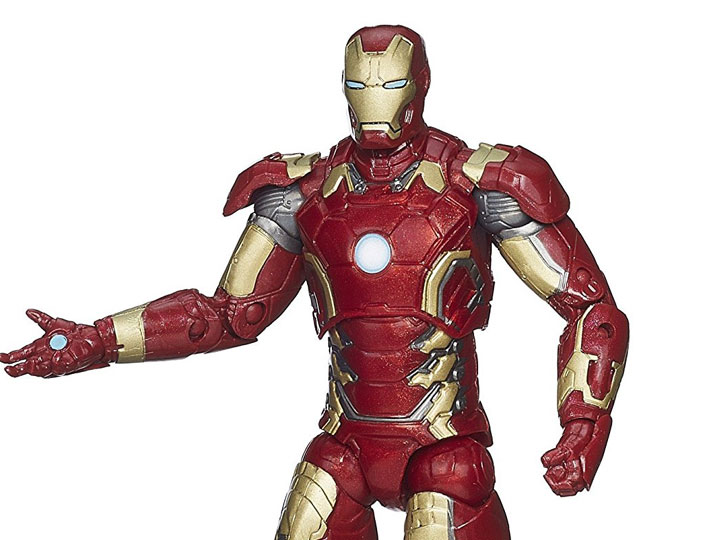 Avengers Marvel Legends Infinite Series Iron Man Mark XLIII