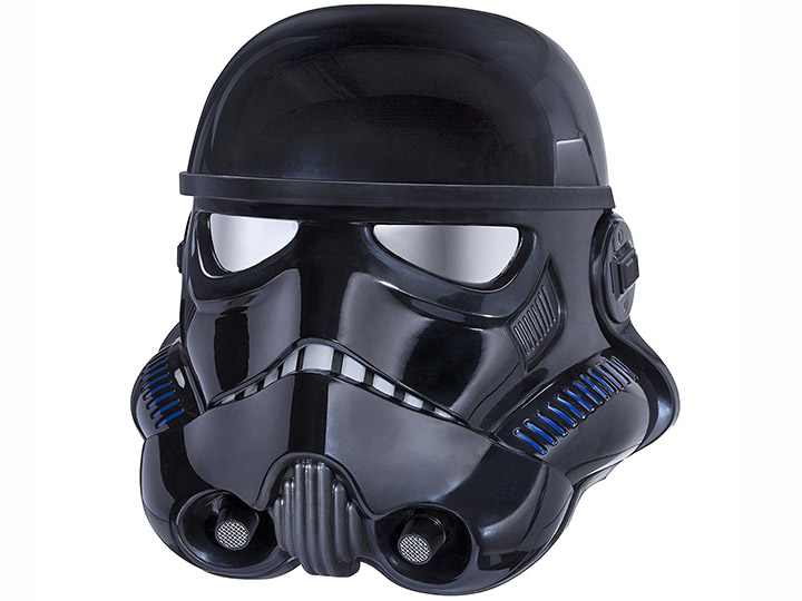 Star Wars The Black Series Shadow Trooper 11 Scale Wearable Helmet (Voice Changer) Exclusive  sc 1 st  BigBadToyStore & Star Wars: The Black Series Shadow Trooper 1:1 Scale Wearable Helmet ...