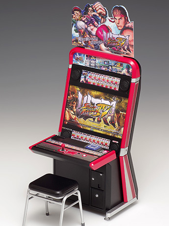 Ultra Street Fighter IV Vewlix 1/12 Scale Arcade Cabinet Model Kit