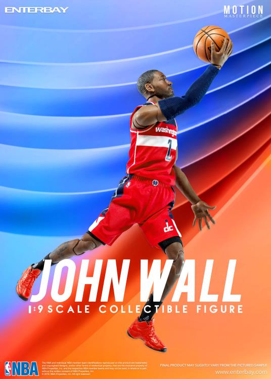 1/9 Scale Motion Masterpiece NBA Collection Action Figure - John Wall