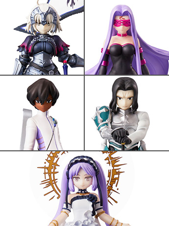 Fate/Grand Order Duel Collection Figure Wave 3 Box of 6 Figures