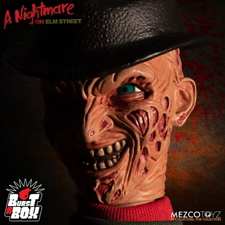 A Nightmare on Elm Street Burst-A-Box Freddy Krueger