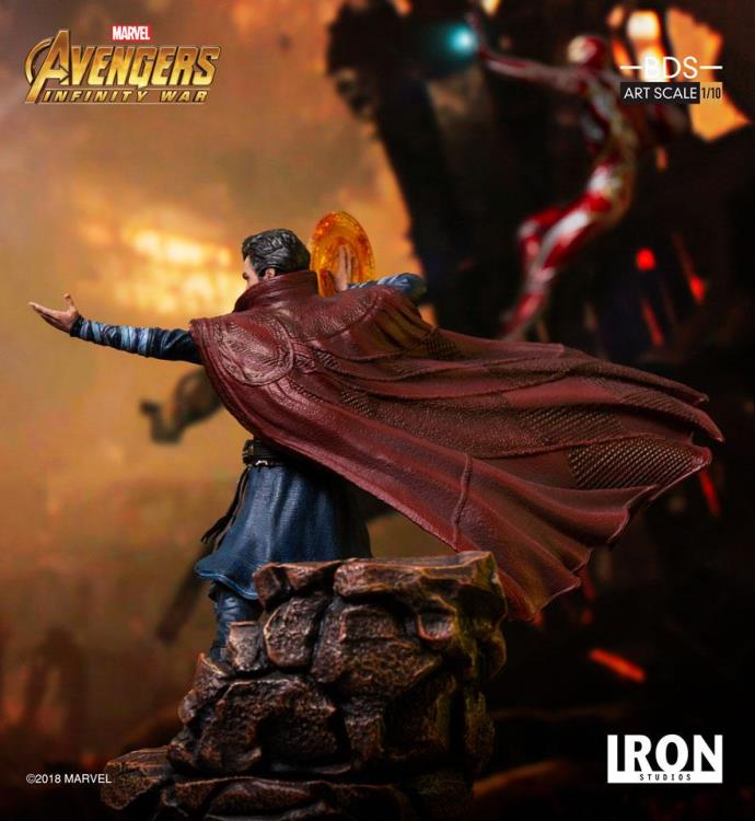 Avengers: Infinity War Battle Diorama Series Doctor Strange 1/10 Art Scale Statue