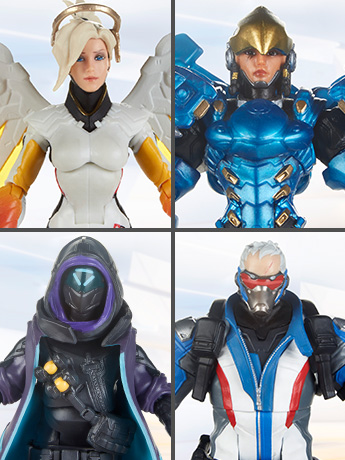 Overwatch Ultimates Dual Pack Wave 1 Set of 2 Two-Packs