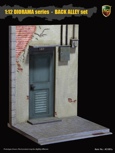 P 51 For Sale >> 1/12 Scale Diorama Series Back Alley Set