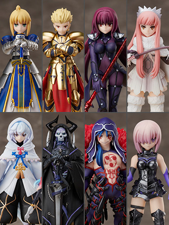 Fate/Grand Order Duel Collection Figure Box of 9 Figures