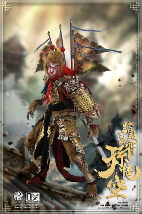 Chinese Legends Sun Wukong (Cloud Palace Breaker) 1/6 Scale Figure