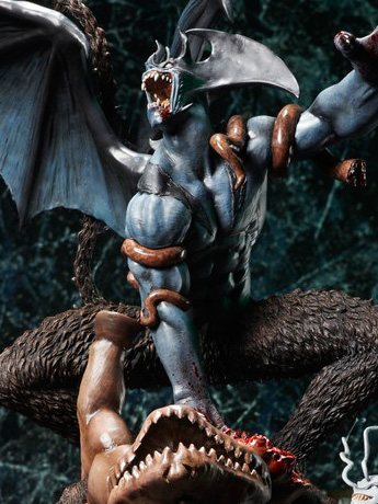 Devilman Crybaby (Real Color) Statue