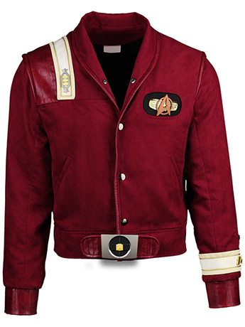Star Trek: The Final Frontier Captain Kirk Bomber Jacket