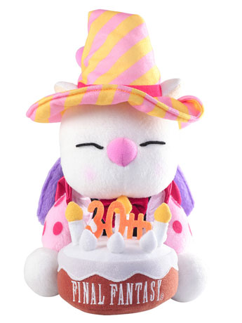 Final Fantasy 30th Anniversary Plush - Moogle