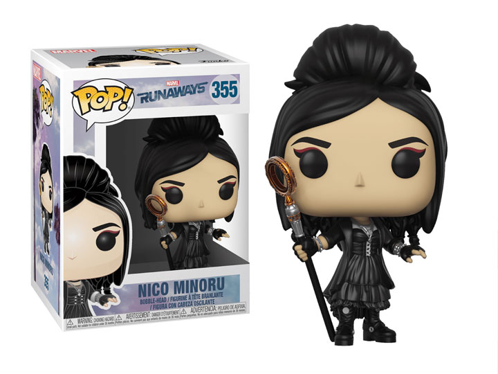 Pop Marvel Runaways Nico Minoru