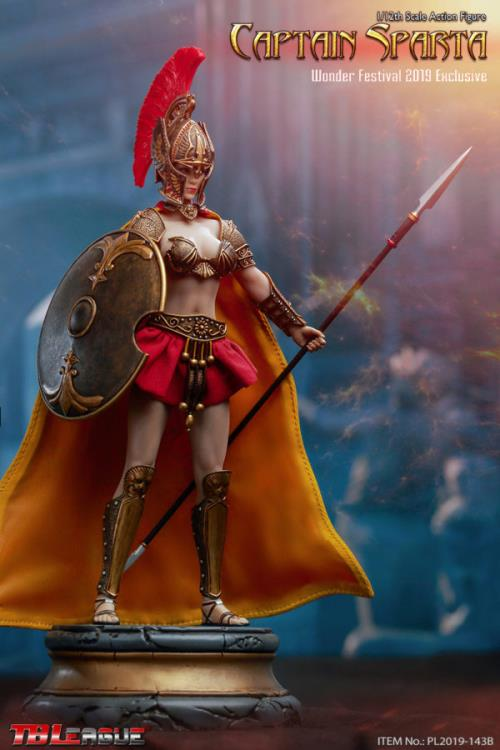 Captain Sparta 1/12 Scale Wonder Festival 2019 Exclusive Figure