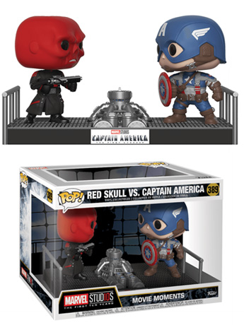 Pop! Marvel Studios 10: Movie Moments - Red Skull Vs. Captain America
