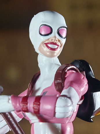 Spider-Man Marvel Legends Gwenpool (Marvel's Lizard BAF)