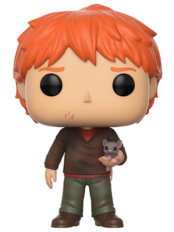 Pop! Movies: Harry Potter - Ron Weasley (With Scabbers)