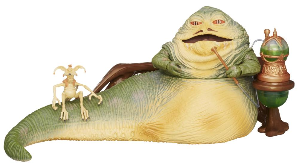 "Star Wars: The Black Series Deluxe 6"" Jabba The Hutt SDCC ... Jabba The Hutt Choked"
