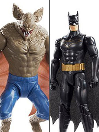 "Batman Missions 12"" Batman vs. Man-Bat Two Pack"