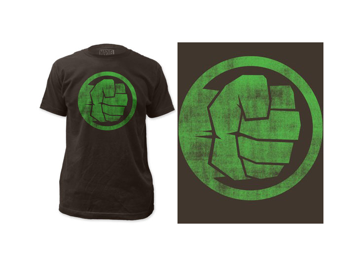 Marvel Incredible Hulk Fist Bump T Shirt