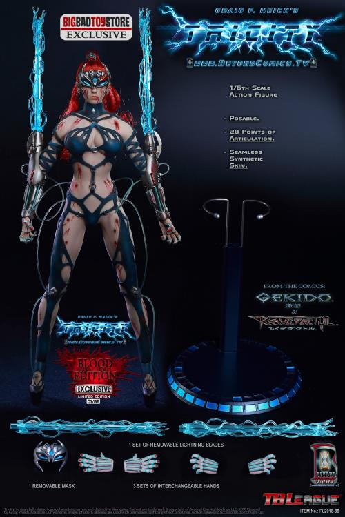 Gekido Tricity: Goddess of Lightning (Blood Edition) 1/6 Scale Limited Edition BBTS Exclusive Figure