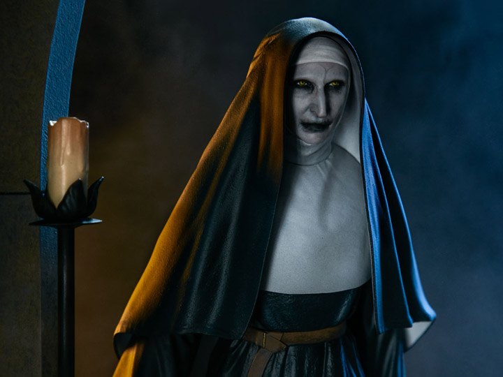 The Nun Demon Nun Valak Statue