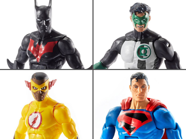 DC Comics Multiverse Wave 10 Set of 4 Figures (Collect