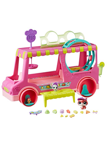 Littlest Pet Shop Tr'eats Truck Playset
