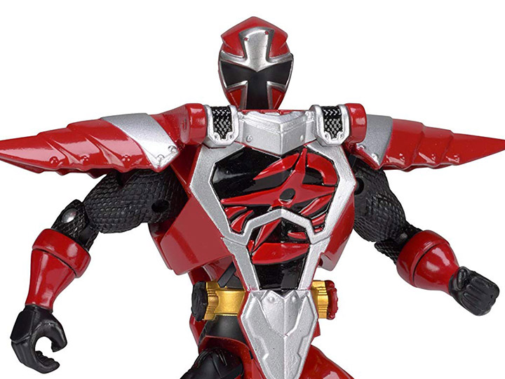 Power Rangers Ninja Steel Deluxe Armored Red Ranger