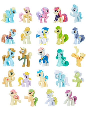 My Little Pony: The Movie Friendship is Magic Collection Wave 3 Box of 24 Figures