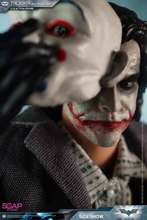 The Dark Knight The Joker (Bank Robber Ver.) 1/12 Scale Figure
