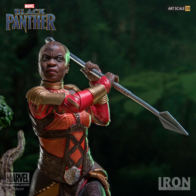 Black Panther Battle Diorama Series Okoye 1/10 Art Scale Statue