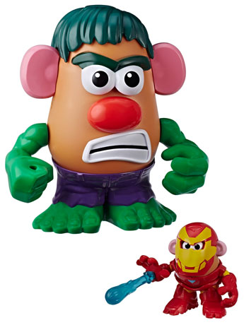 Marvel Mr. Potato Head Agents of S.P.U.D. Hulk & Iron Man