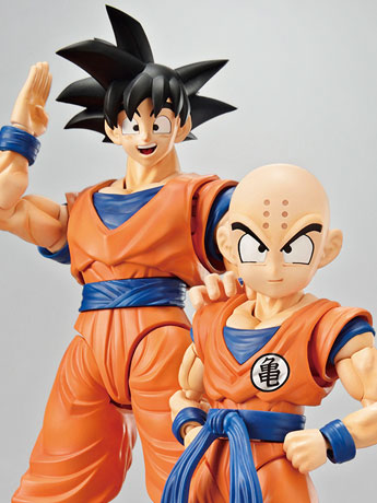 Dragon Ball Z Figure-rise Standard Goku & Krillin DX Set