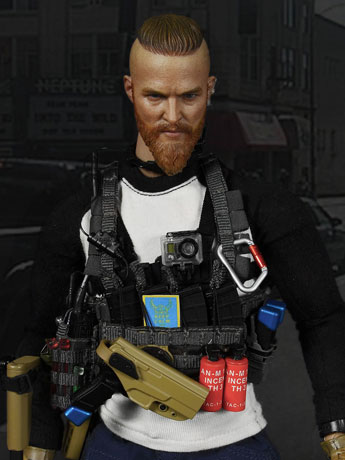 "1/6 Scale Private Military Contractor Urban Operation Assaulter 2 ""Viking"""