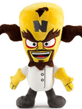 "Crash Bandicoot 8"" Phunny Neo Cortex Plush"