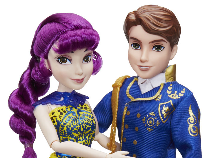 Product Image Disney Descendants 2 Ben Mal Fashion Doll Two Pack