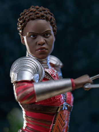 Black Panther Battle Diorama Series Nakia 1/10 Art Scale Statue