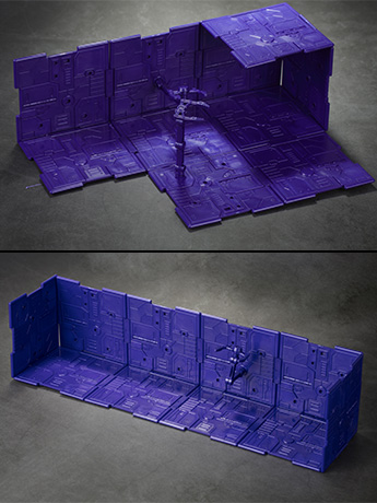 Iron Deck Base & Background Panels (Purple)