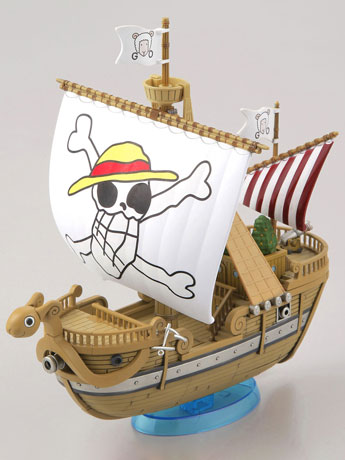 One Piece Grand Ship Collection Going Merry (Memorial Color Ver.) Model Kit
