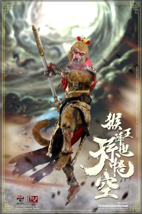 Chinese Legends Sun Wukong (Monkey King Begins) 1/6 Scale Figure