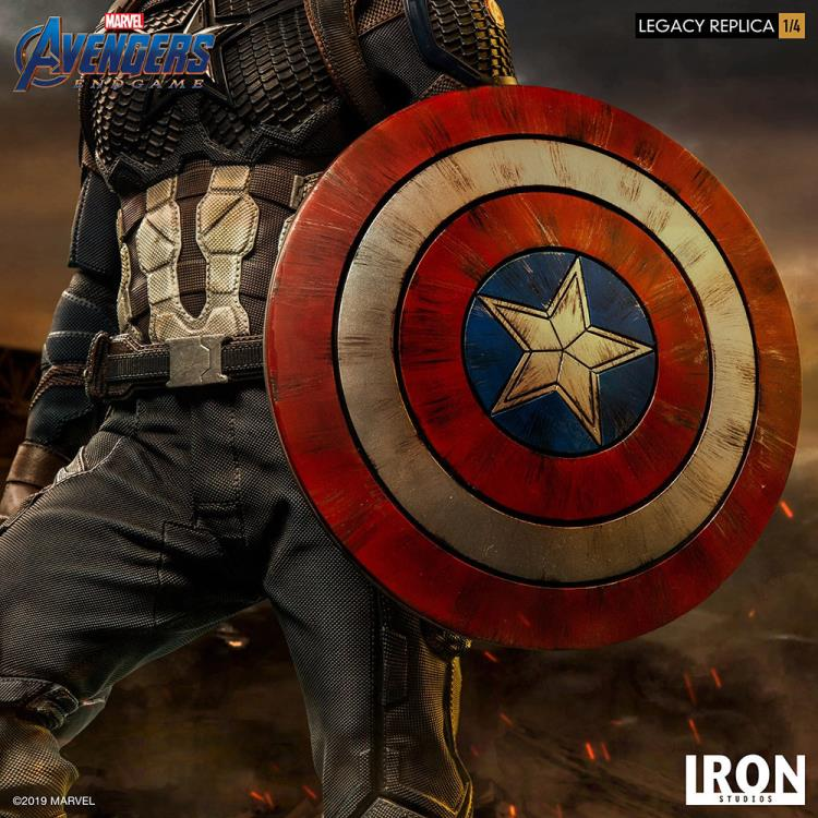 Avengers: Endgame Legacy Replica Captain America 1/4 Scale Limited Edition Statue