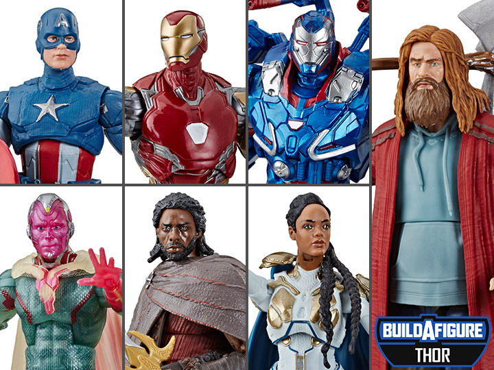 Avengers: Endgame Marvel Legends Wave 3 Set of 6 Figures