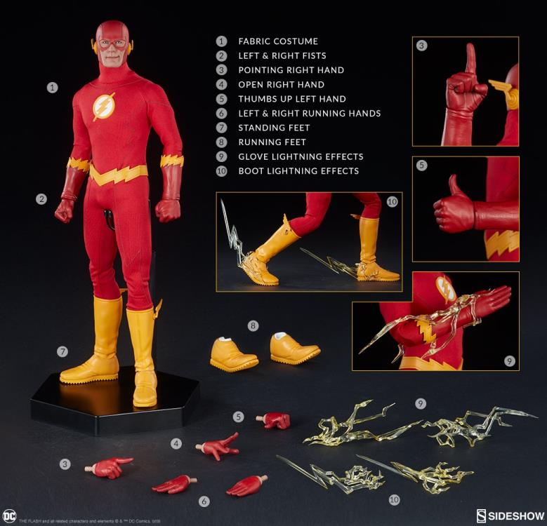 DC Comics The Flash 1/6 Scale Figure